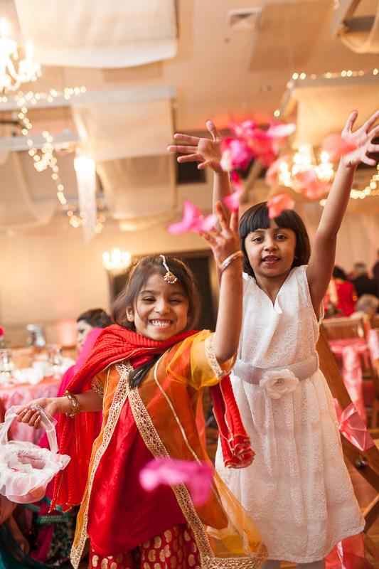 Denver Pakistani Wedding flower girls