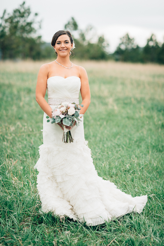 Spruce Mountain Ranch Wedding Photography bride portrait