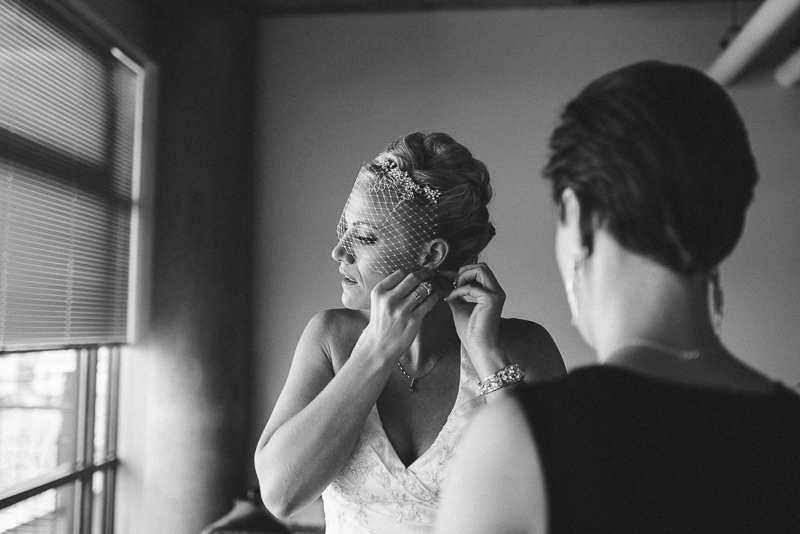 Denver Wedding Photographer bride getting ready