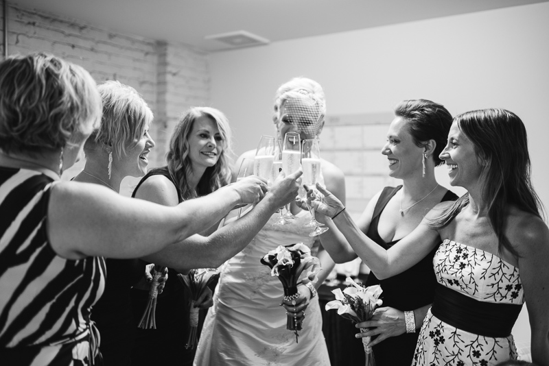 Denver Wedding Photographer toast