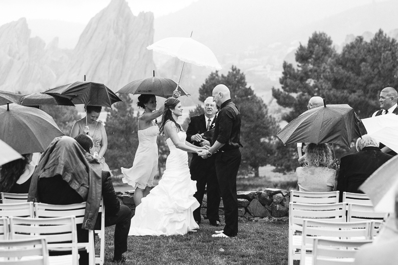 Denver Wedding Photography Arrowhead black and white