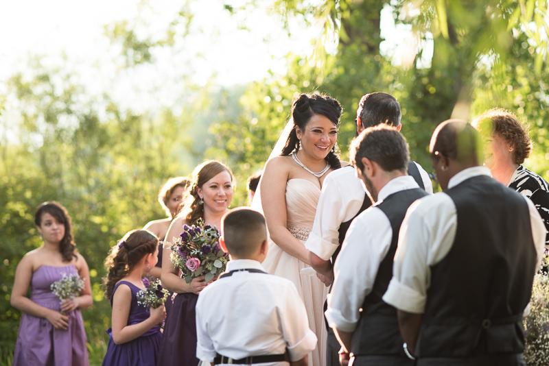Denver Wedding Photographer Hudson Gardens ceremony
