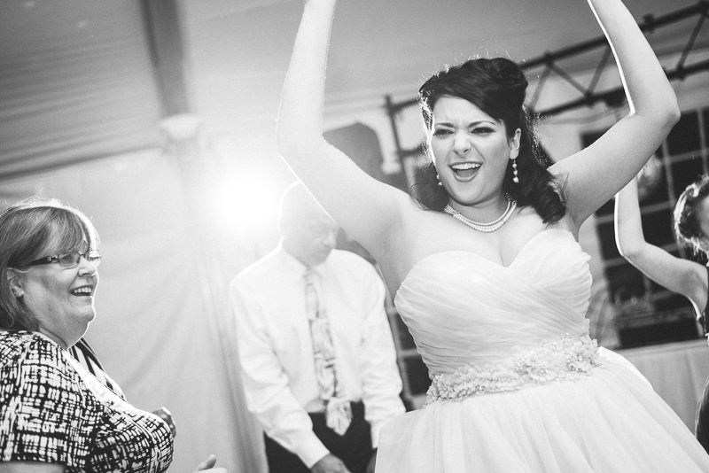 Denver Wedding Photographer Hudson Gardens reception dancing