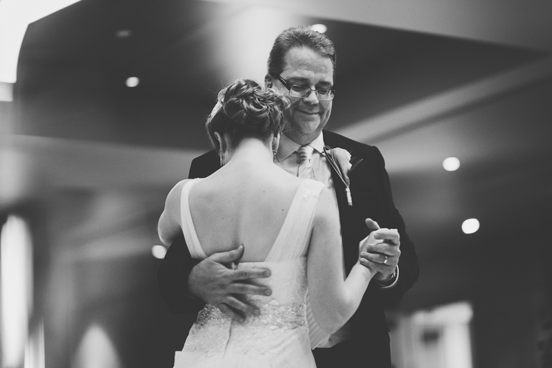 Golden Wedding Photographer father daughter dance