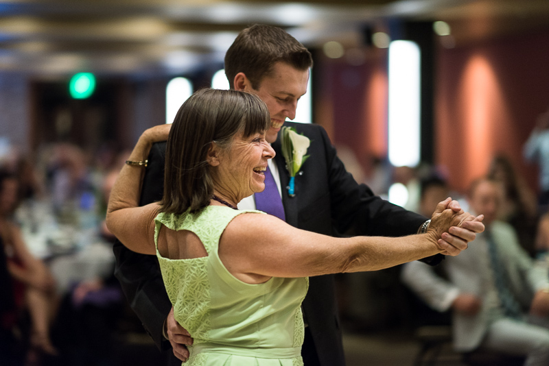 Golden Wedding Photographer mother son dance