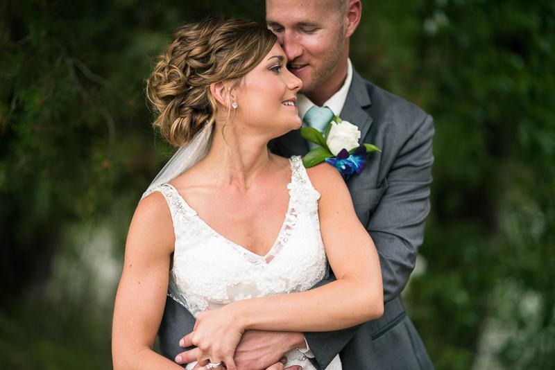 Silverthorne Wedding Photographer couple snuggling