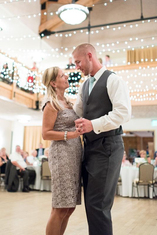 Silverthorne Wedding Photographer mother son dance
