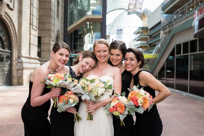 Denver Opera House Wedding Photographer ladies