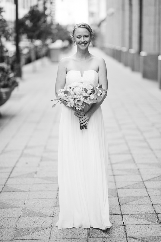Denver Opera House Wedding Photographer bride