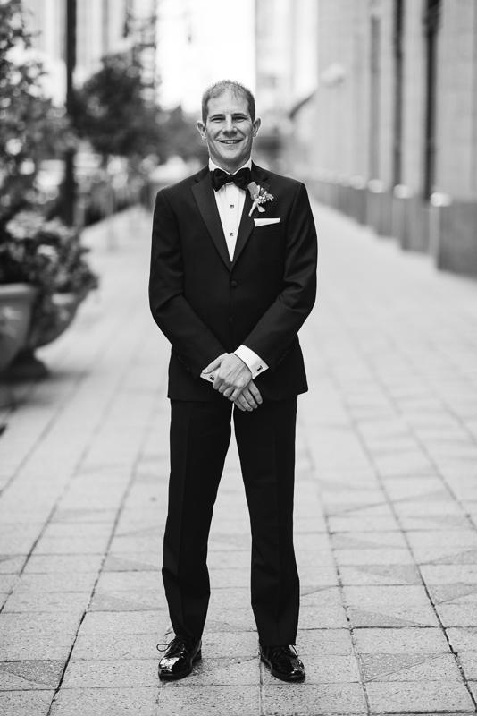Denver Opera House Wedding Photographer groom