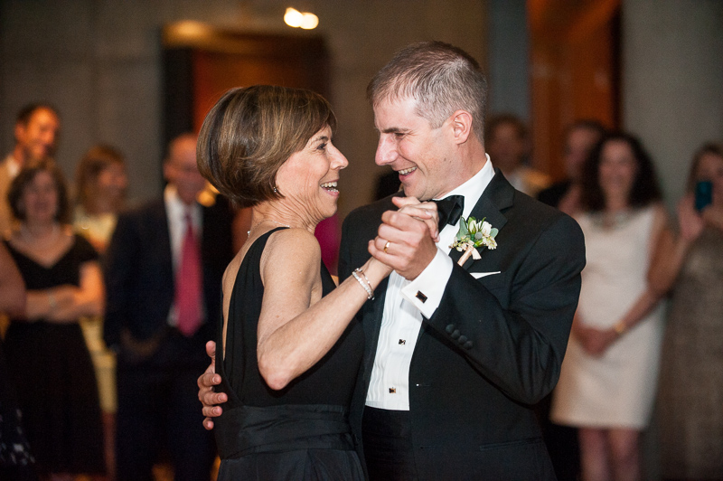 Denver Opera House Wedding Photographer mother son dance