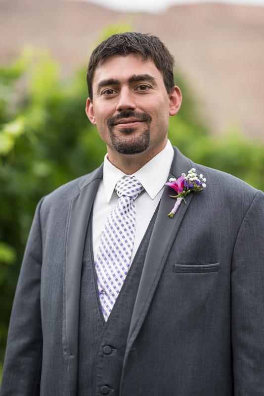 Palisade Wedding Photography groom