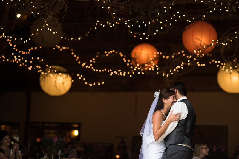 Palisade Wedding Photography first dance paper lanterns