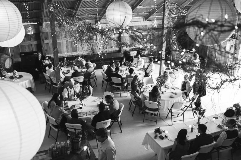 Palisade Wedding Photography barn reception