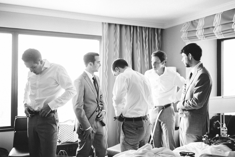 Boulder Wedding Photography guys black and white