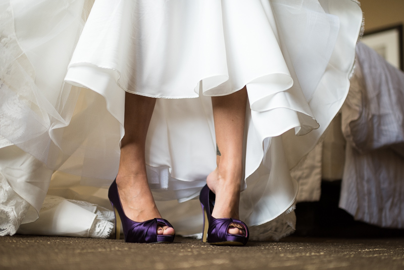 Boulder Wedding Photography purple shoes