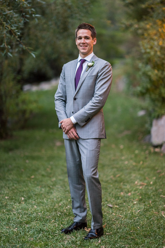 Boulder Wedding Photography groom portrait