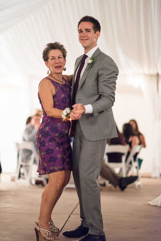 Boulder Wedding Photography mother son dance