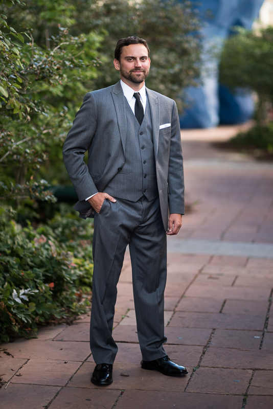 Denver Wedding Photography History Colorado groom portrait