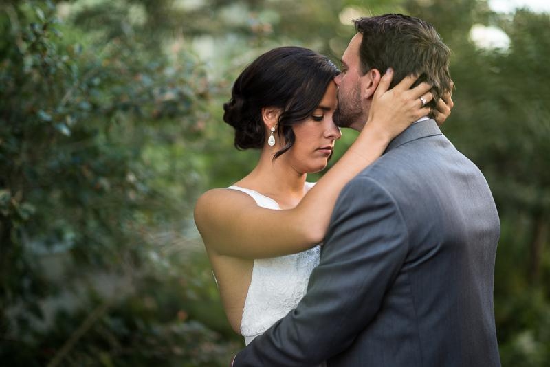 Denver Wedding Photography History Colorado bride and groom kissing