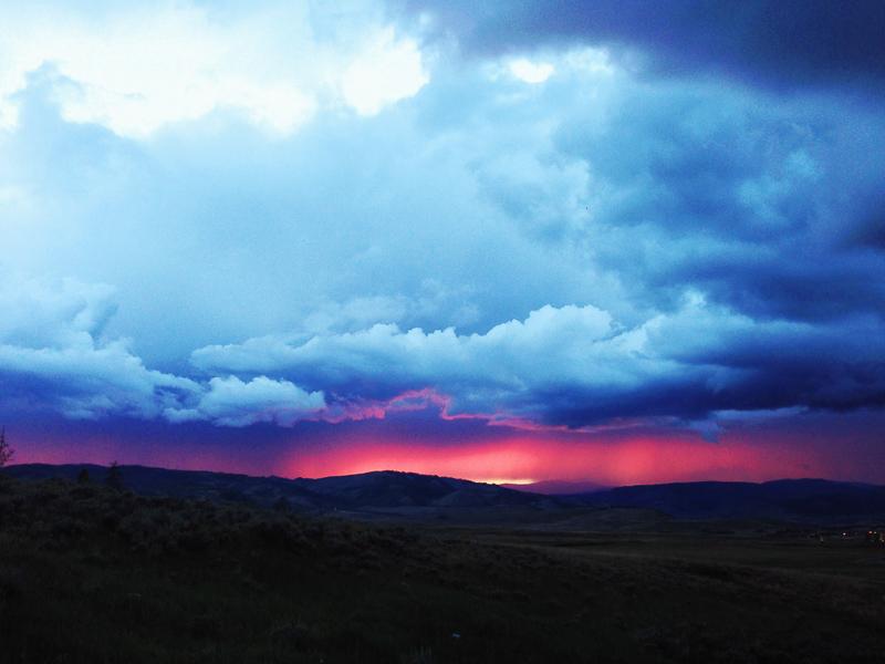 granby colorado sunset