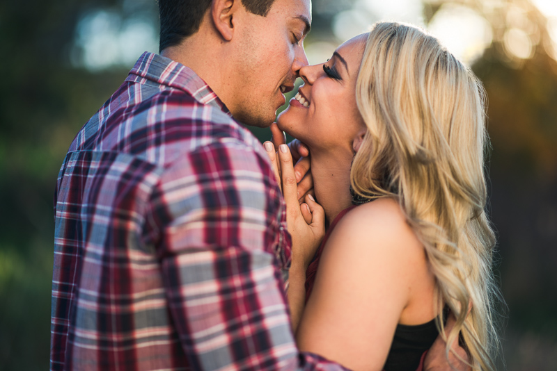 Denver engagement photography smile
