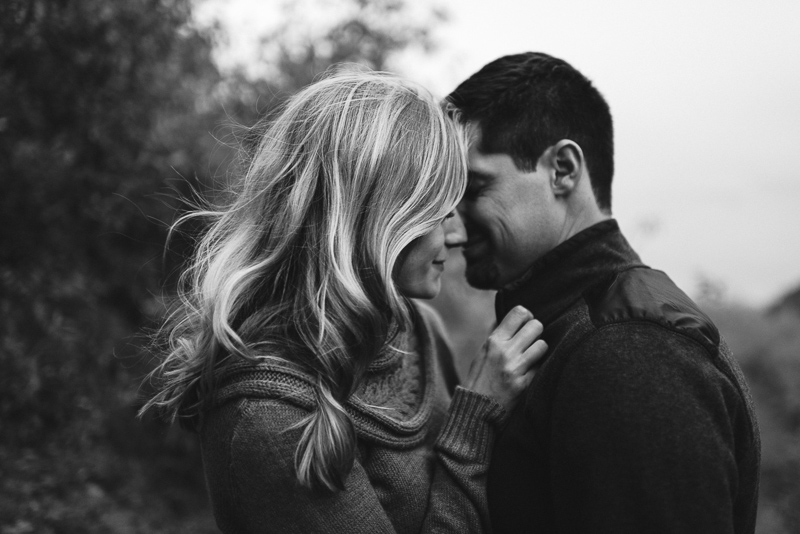 Denver engagement photography hair