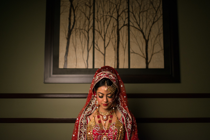 Denver wedding photography pakistani bride portrait