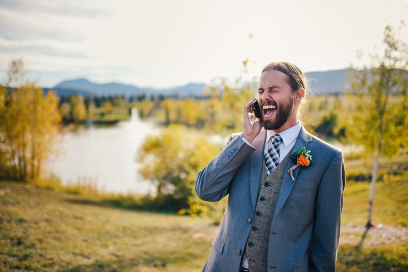 Denver Wedding Photography happy groom