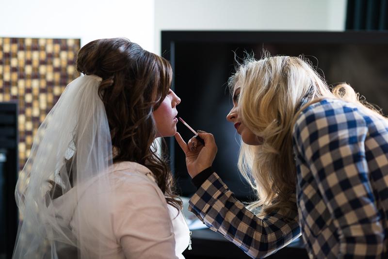 denver wedding photography bride makeup