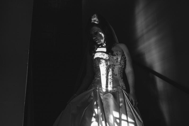denver wedding photography dramatic bride