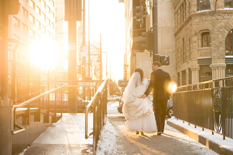 denver wedding photography sunlight walking