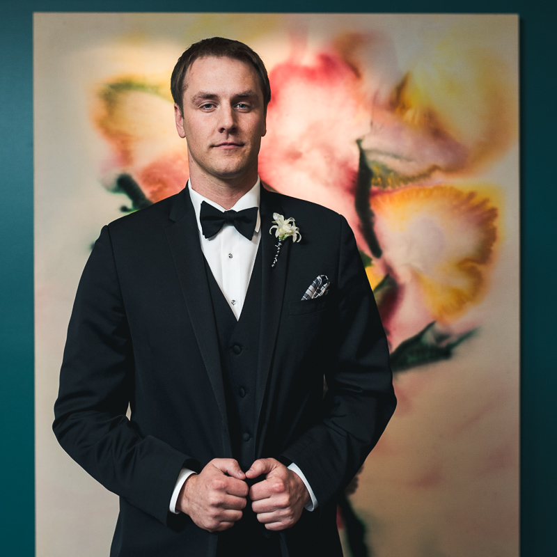 denver wedding photography groom portrait