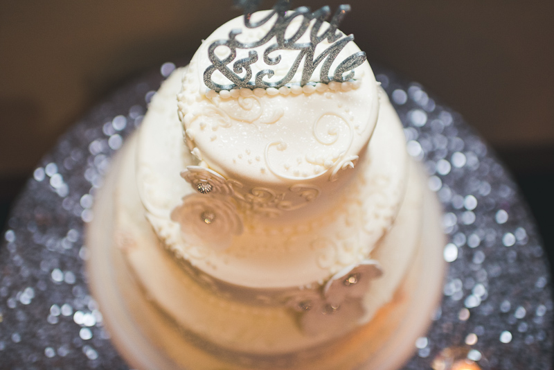 denver wedding photography cake
