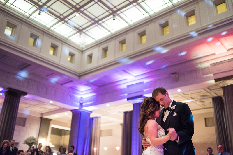 denver wedding photography first dance