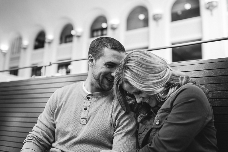 Denver Engagement Photography  union station