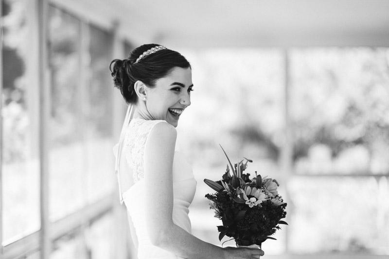 chatfield botanic gardens wedding photography happy bride
