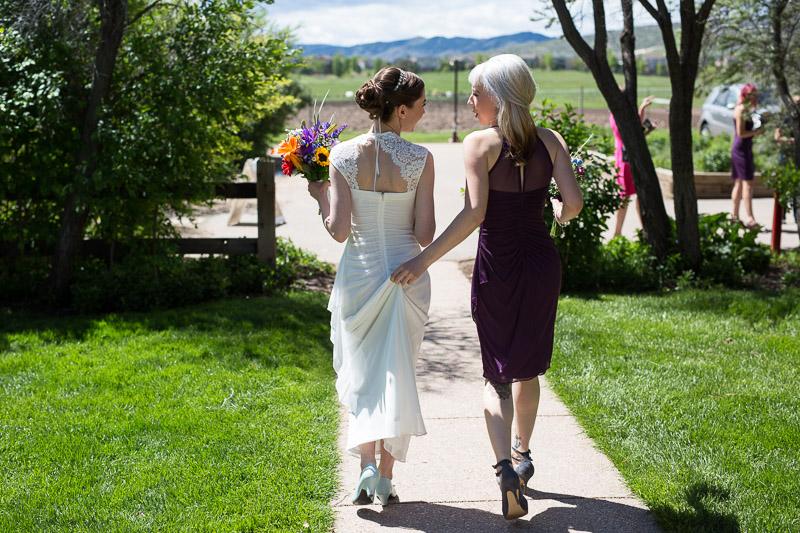 chatfield botanic gardens wedding photography