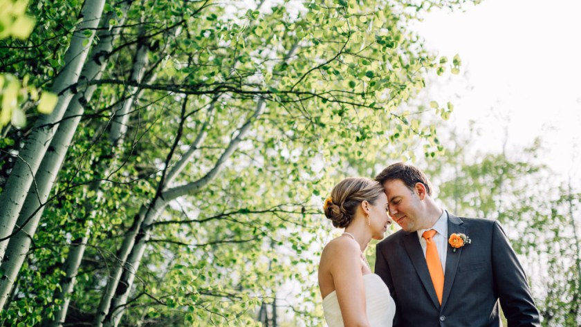 steamboat springs wedding photography aspen trees