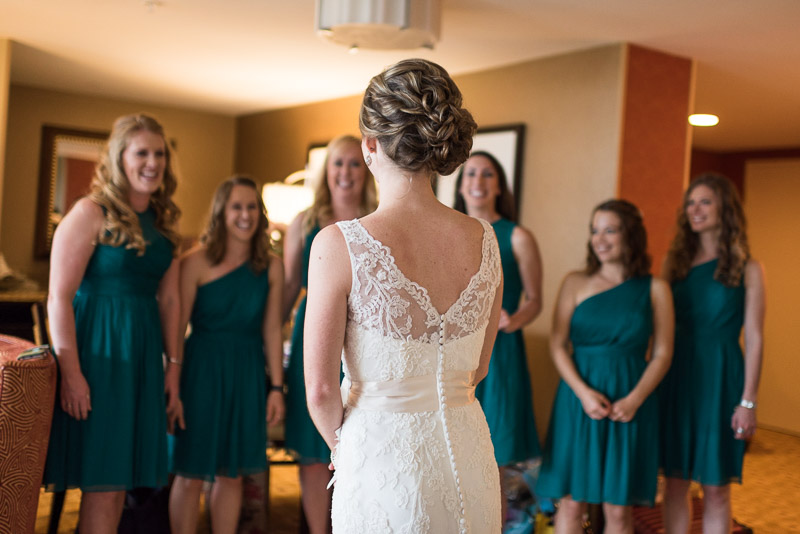 Denver Wedding Photography Cherokee Ranch and Castle bride and bridesmaids