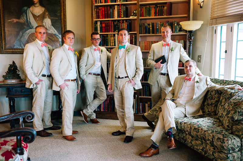 Denver Wedding Photography Cherokee Ranch and Castle groomsmen portrait