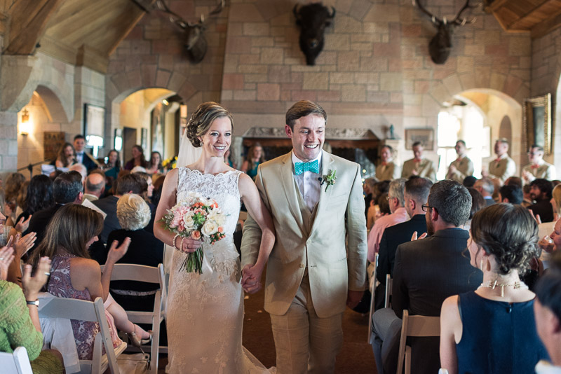 Denver Wedding Photography Cherokee Ranch and Castle just married