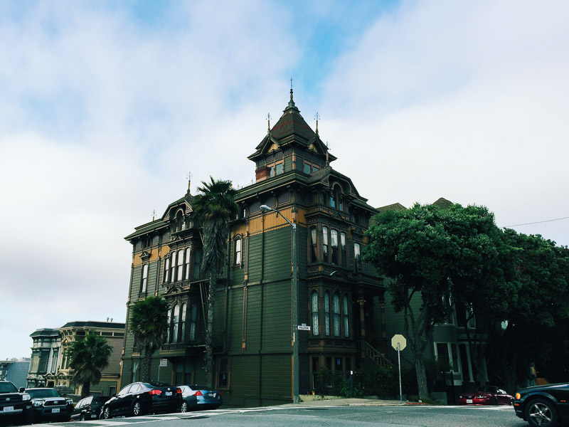 San Francisco victorian vsco iphone