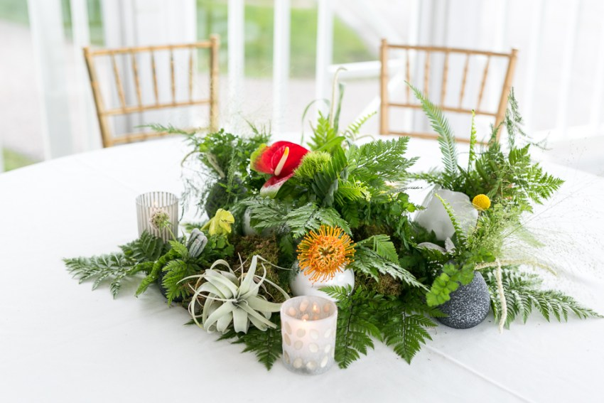morrison willow ridge manor wedding photographer centerpieces