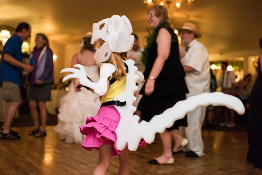 morrison willow ridge manor wedding photographer dinosaur dancing