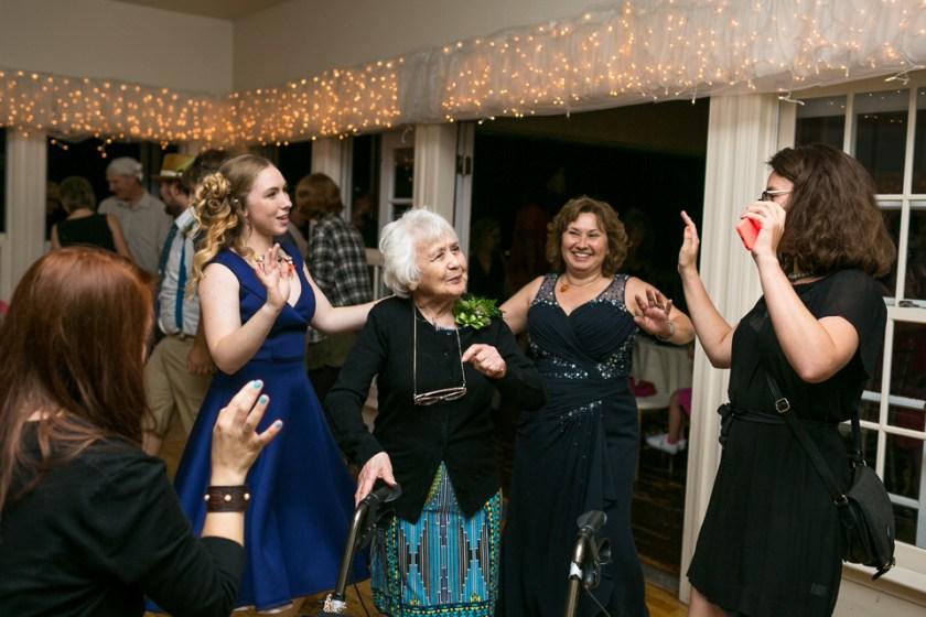 morrison willow ridge manor wedding photographer dancing grandmother