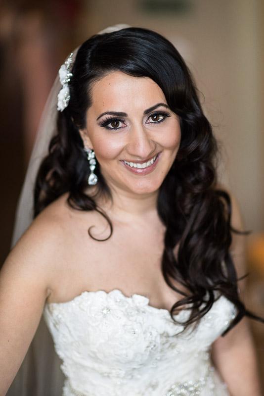 denver jewish wedding photographer bride portrait