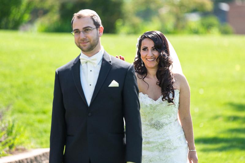 denver jewish wedding photographer first look
