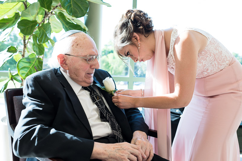 denver jewish wedding photographer grandfather