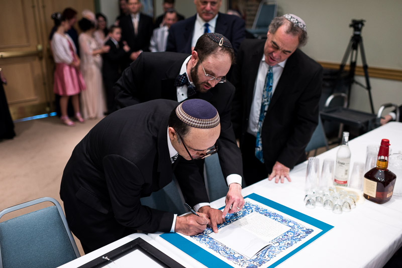 denver jewish wedding photographer ketubah